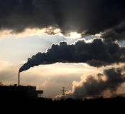 Coal powerplant Royalty Free Stock Images
