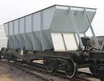 Coal Railway Wagon. Royalty Free Stock Photos