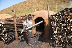 Hard job - Coal Royalty Free Stock Images