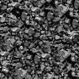 Coal seamless background. Stock Photos