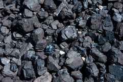 Coal seamless background. Royalty Free Stock Images