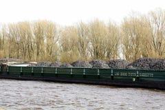 Coal ship Stock Image