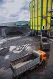 Coal shipment Royalty Free Stock Photo
