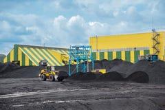 Coal shipment Stock Photo