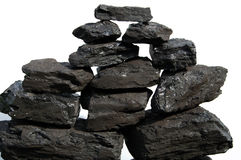 Coal stack Stock Photos