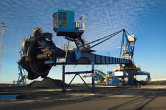 Coal terminal 3 Stock Images