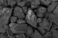 Coal texture Royalty Free Stock Photography