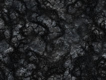 Coal texture. after volcano eruption. lava solidified Royalty Free Stock Photography