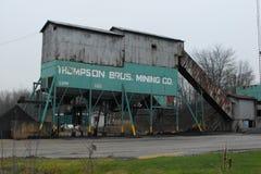 Coal tipple stock photo