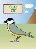 Coal tit Royalty Free Stock Image