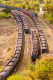 Coal train 2 Royalty Free Stock Photography
