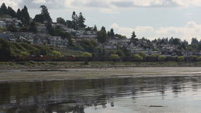 Coal Train, White Rock, BC Royalty Free Stock Photo