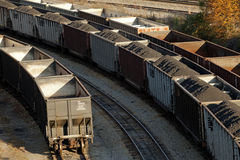 Coal transportation, Appalachia Royalty Free Stock Image