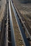 Coal transportation line stock photography