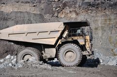 Coal truck Stock Images