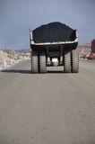 Coal truck. At Stockton Coal Mine, West Coast, South Island, New Zealand Stock Photos
