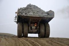 Coal truck. At Stockton Coal Mine, West Coast, South Island, New Zealand Royalty Free Stock Image