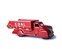 Coal Truck Toy Royalty Free Stock Image