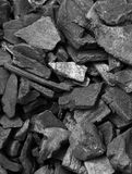 Coal Wallpaper Royalty Free Stock Photo