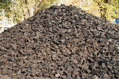 Coal washed for winter Royalty Free Stock Photos