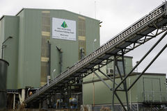 Coal washing plant Royalty Free Stock Photography