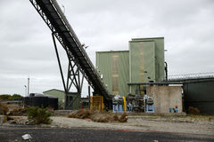 Coal washing plant Royalty Free Stock Photography