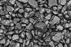 Coal wet Royalty Free Stock Photo