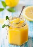 Coalhada de limão fotografia de stock