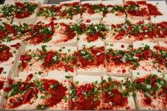 Coalho de feijão quente picante - um prato popular Fotografia de Stock Royalty Free
