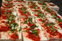 Coalho de feijão quente picante - um prato popular Imagens de Stock Royalty Free