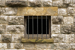 Jail cell bars Royalty Free Stock Photos