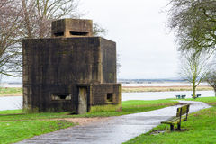 Coalhouse fortu pillbox obraz royalty free