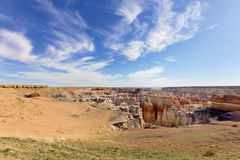 Coalmine Canyon Royalty Free Stock Images