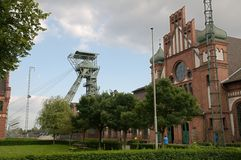 Coalmine Zollern -  Dortmund Bövinhhausen Stock Photography