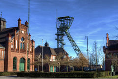 Coalmine Zollern II/IV. The historic mine Zollern II/IV in Dortmund, in the Ruhr Valley in Germany Royalty Free Stock Photography