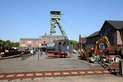 Coalmine Zollern - Industrial route  Dortmund Royalty Free Stock Photo