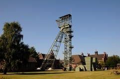 Coalmine Zollern - industriell rutt Dortmund Fotografering för Bildbyråer