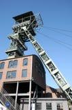 Coalmine Zollern - industriell rutt Dortmund Arkivfoton