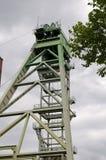 Coalmine Zollern - industriell rutt Dortmund Arkivfoto