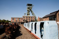 Coalmine Zollern - mine train Stock Image