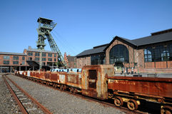 Coalmine Zollern - mine train Stock Image