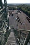 Coalmine Zollern - Spooler terminal mining trains Stock Photo