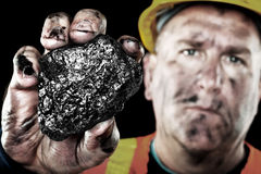 Coalminer Royalty Free Stock Photography