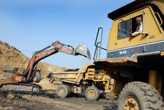 Coalmines in India Royalty Free Stock Images