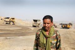Coalmines in India Stock Photo