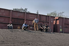 Coalmines in India Stock Photography