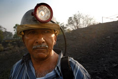 Coalmines Worker Royalty Free Stock Photos