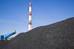 Coalmining Royaltyfri Fotografi