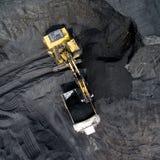 Coalmining på öppen grop Arkivfoton