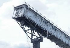 Coalmining på minen Royaltyfria Bilder